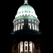 Obligatory Capitol At Night Photograph