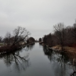 My favorite view of the Yahara River