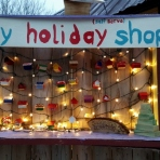 Occupy Madison Tiny Houses Holiday Shop
