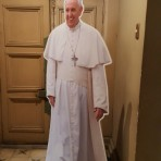 The Pope was scheduled to visit Chile and Peru beginning January 15th, three days after our departure. As part of gearing up for the celebrations surrounding his visit, these awesome life-size Pope cutouts were in pretty much every church and basilica.